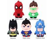 u disk Stock hero super man spiderman Usb flash drive 8g/16g/32g/64g cartoon pen drive pendrives usb 2.0 -inUSB Flash Drives 9SIAC5C5WV5827