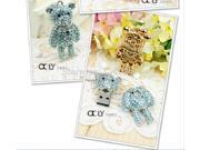 Garunk Diamond crystal usb flash drive cute bear 4G 8G 16G 32g flash memory stick drive USB2.0 u disk pen drive flash drive-inUSB Flash Drives 9SIAC5C5WV5742