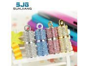 Jewelry Crystal cylinder usb flash drive pen drive memory stick 4GB pendrive 8GB u disk 16GB memory card 32GB 64GB gift-in Storage Devices 9SIAAWS5WM5209