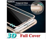 3D Curved Edge Clear Tempered Glass Full Coverage For iPhone 7 Plus 7 Titanium Protective Film Screen Protector For iPhone 6 6s 9SIAAWS6Z11515