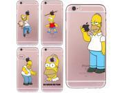 Cartoon Homer Case for iphone 6 6s 5 5s SE 7 8 plus Cover Simpson Cheap Mobile Phone Bag Soft TPU Silicone Transparent Fundas 9SIAAWS6YX0881