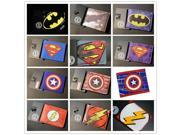 Comics DC Marvel The Avengers Batman Superman Spiderman Logo Wallets Collection American Captain Flashman Ironman Purse Muster 9SIAAWS6ZN4148
