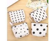 M150 2017 Canvas Women Coin Purses Simple Creative Nordic Style Dot Small Tree Star Sign Small Change Wallet Wholesale (9SIAAWS6ZN5680 20180309wallet299 GENERIC) photo