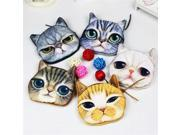 Wallet bag ladies face 3D girl  zipper mini coin purses cat shake dog children wallet coin purse bag coin purse; stuffed cat (9SIAAWS6ZN5630 20180309wallet35 GENERIC) photo