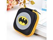 Hot Batman Logo Silicone Coin Purse Novelty Cartoon Anime Hero Bat Man Superman Spiderman Ironman Coin Bag Kids Mini Cute Wallet 9SIAAWS6ZN6192