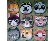 3D girl wallet bag ladies face zipper mini cat coin purses dog children's purse plush bolsa de moeda coins pouch monedero gato (9SIAAWS6ZN4268 20180309wallet162 GENERIC) photo