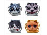 Crossbody Girl Wallet Bag Ladies Zipper Mini Cat Coin Purses Dog Children's Purse plush bolsa de moeda Coins Pouch monedero gato (9SIAAWS6ZN6128 20180309wallet423 GENERIC) photo