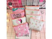 Rose Diary Cute flamingos strawberry High quality girl pu leather zero wallet children purse, women Coin Purses Pouch Case bags (9SIAAWS6ZN5344 20180309wallet273 GENERIC) photo