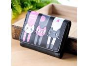 Women Wallets Cute Lucky Cat Pattern Teenage Unique Purses for Teen Girls Children's Mujer Coin Purse (9SIAAWS6ZN6103 20180309wallet551 GENERIC) photo