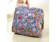 Women Coin Purse Cute Flower Printing Ladies Small Wallet Pocket Headset Line Pouch Credit Card Holder Lipstick Bag Girl Gift (9SIAAWS6ZN6331 20180309wallet89 GENERIC) photo