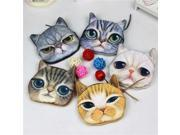 3D girl wallet bag ladies face zipper mini cat coin purses dog children's purse plush bolsa de moeda coins pouch monedero gato (9SIAAWS6ZN5769 20180309wallet37 GENERIC) photo