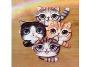Unisex Cute Animal Cartoon 3D Cat / Dog Face Bag Coin Change Purse Case Wallet Change Pocket Ladies Workmanship Change Purse (9SIAAWS6ZN6438 20180309wallet424 GENERIC) photo