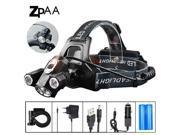 ZPAA LED Headlamp T6 LED Head Torch Flashlight 10000 Lumens LED Head Lamp 180 degree Rotating dual Bike Light Headlight Lamps 9SIAAWS6ZR5241