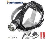 LED Headlamp 3800LM Front Lamp Headlight CREE T6 LED Head Lamp Torch LED Flashlights Biking Fishing Torch 18650 Battery Charger 9SIAAWS6ZR4635