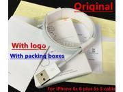 /lot Original Qulaity USB Data Sync Charger Cable For ipad mini iPhone 5 5c 5s 6 6s With Original retail Box ship 9SIAC5C5CC8051
