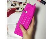 Hot Telephone Soft Silicon Phone Back Cover Phone Case For Iphone 5S 6 6Plus YC1200 9SIAAWS5C58592