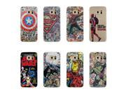 Spiderman Batman Ironman Hulk Deadpool Captain America Shield Phone Case for Samsung Galaxy S3 S4 S5 mini S6 S7 edge Back Cover 9SIAAWS5C59490