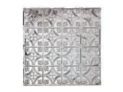 Ceiling Tiles Tin Fleur de Lis Circle 2 x 2 Renovators Supply