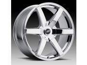 Pacer 785V Ovation 17x7.5 5x110/5x115 +42mm PVD Chrome Wheel Rim