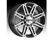 Ultra 226U Machine Machined Black 17x8.5 8x165.1 12mm (226-7882U+12)