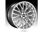 Advanti Racing FS Fastoso Silver 20x9 5x112 30mm (FS0A51230S)