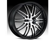 Advanti Racing PO Prodigo Mach/Black 22x10 5x120 20mm (PO20520205)
