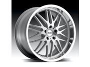 Advanti Racing A4 Kudos Silver Machined 20x8.5 5x120 20mm (A48052020S)