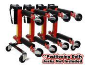 Dragway Tools® Wheel Dolly Storage Stand for 9 or 12 Vehicle Positioning Jacks