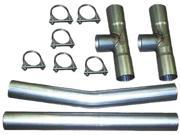 Exhaust H Pipe Kit 2.50