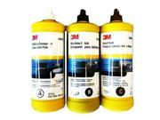 3M Buffing and Polishing Compound Hand Glaze Package 05973 05996 05990