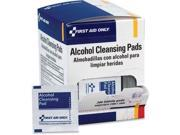 First Aid Only H305 Alcohol Wipes, 100/box