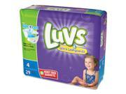 Luvs 85925 DIAPERS Size 4/29CT