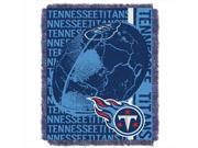 Northwest 1NFL 01903 0016 RET Double Play Titans NFL Jacquard Throw