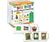 Image of Carson-Dellosa Publishing 1474651 Key Education Big Box of Sorting & Classifying Board Game