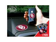 Fanmats 13052 University of Oklahoma Get a Grip 2 Pack 9SIA00Y1844772