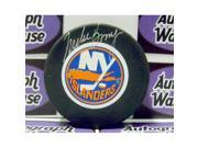 Autograph Warehouse 12367 Mike Bossy Autographed Hockey Puck New York Islanders 9SIA00Y1N88863