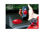 Fanmats 13074 COL - small 1.5 in.  - large 3 in.  - University of Arkansas Get a Grip 2 Pack 9SIA00Y1859249