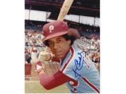 Jose Cardenal Autographed Philadelphia Phillies 8X10 Photo 9SIA00Y19A3175
