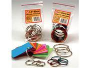 HYGLOSS PRODUCTS INC. HYG61353 BOOK RINGS 1.5 50 PER PACK