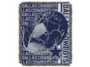 Northwest 1NFL 01903 0009 RET Double Play Cowboys NFL Jacquard Throw