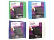 Image of Avery 3in. Assorted Colors Durable Reference View Binder 17048