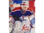 Grant Fuhr Autographed Edmonton Oilers 8X10 Photo - 5X Stanley Cup Champion 9SIA00Y19A5714