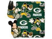 Northwest 1COB-03800-0017-RET Dis-Nfl - Packers NFL Fleece Throw Pillow Set