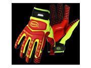 Image of Boss 1JM770L High-Vis Padded Gel Palm Large Glove