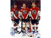 Autograph Warehouse 270970 8 x 10 in. Scott Stevens Scott Niedermayer Martin Brodeur Autographed Photo - New Jersey Devils Stanley Cup Heroes All Stars 9SIA00Y5W45531