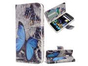Zizo DWTPH-ALCOTNT-VBBF Vibrant Butterflies Design Wallet Flap Pouch with TPU inside Cover - Vibrant Butterflies 9SIV06W67M5007