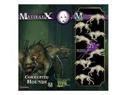 Reaper Miniatures WYR20431 Neverborn Corrupted Hounds, Pack of 4 9SIV06W6888610