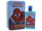 Marvel K-GS-2053 Ultimate Spider Man Gift Set Eau De Toilette Spray with Metal Box for Kids, 3.4 oz - 2 Piece 9SIA00Y5W18948