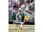 Autograph Warehouse 64544 Darrelle Revis Autographed 8 x 10 Photo New York Jets Psa Authentication Image No. 2 9SIV06W6A64036