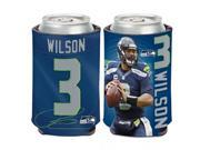 Wincraft 3208514466 Seattle Seahawks Russell Wilson Can Cooler 9SIV06W69Z4346